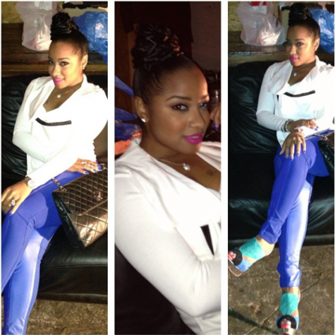 toya wright red bottom shoes 2
