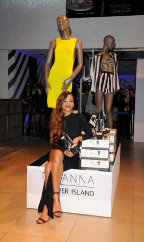 Rihanna fashion line - London