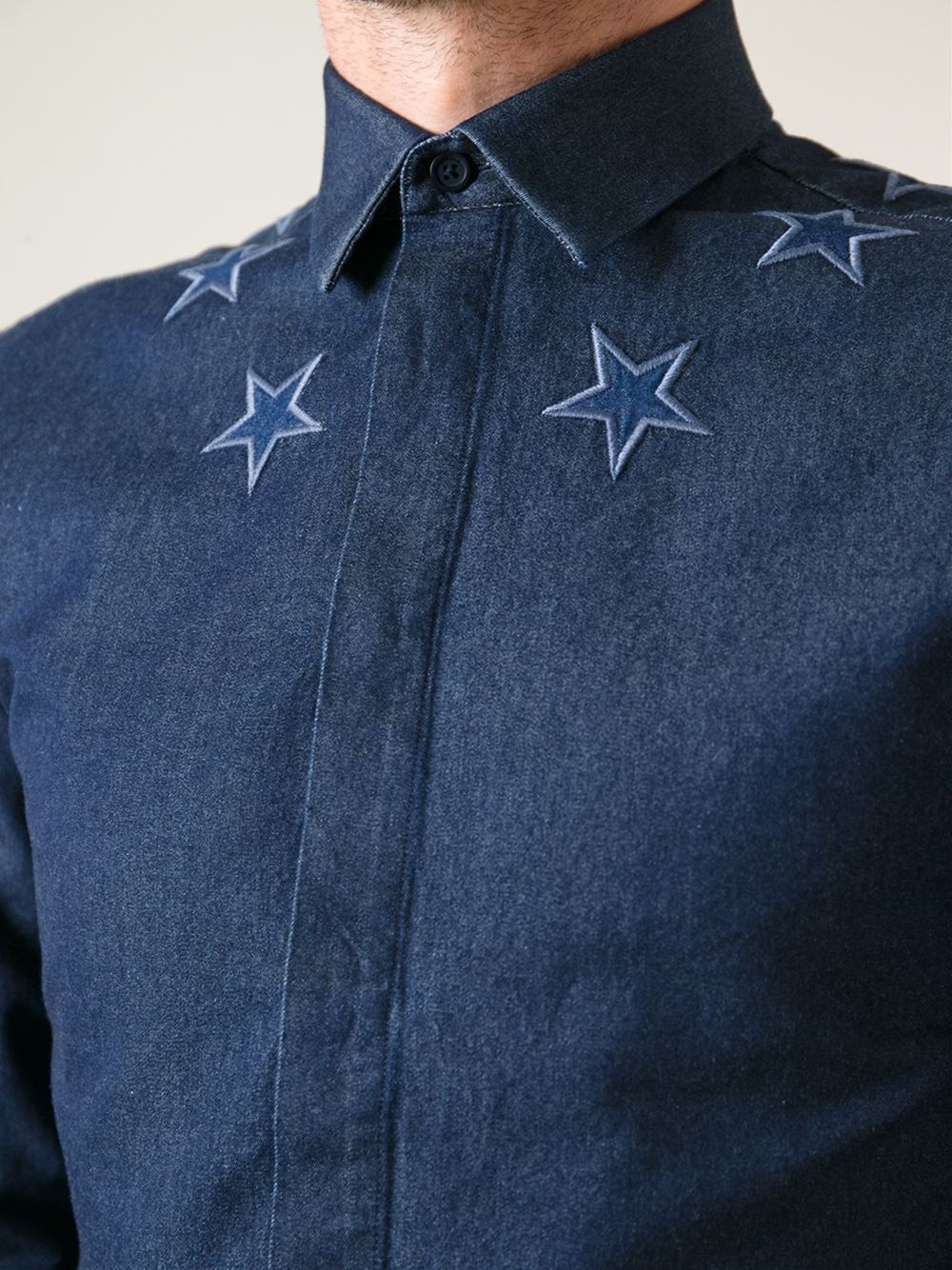 Givenchy star detail shirt shive magazine for Givenchy star t shirt