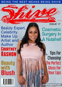 Beauty Expert,Celebrity Make-Up Artist and Author Courtney Rashon