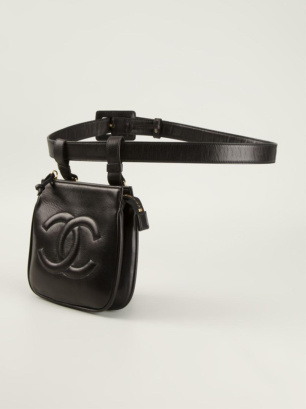Chanel Vintage Belt Bag Shive Magazine
