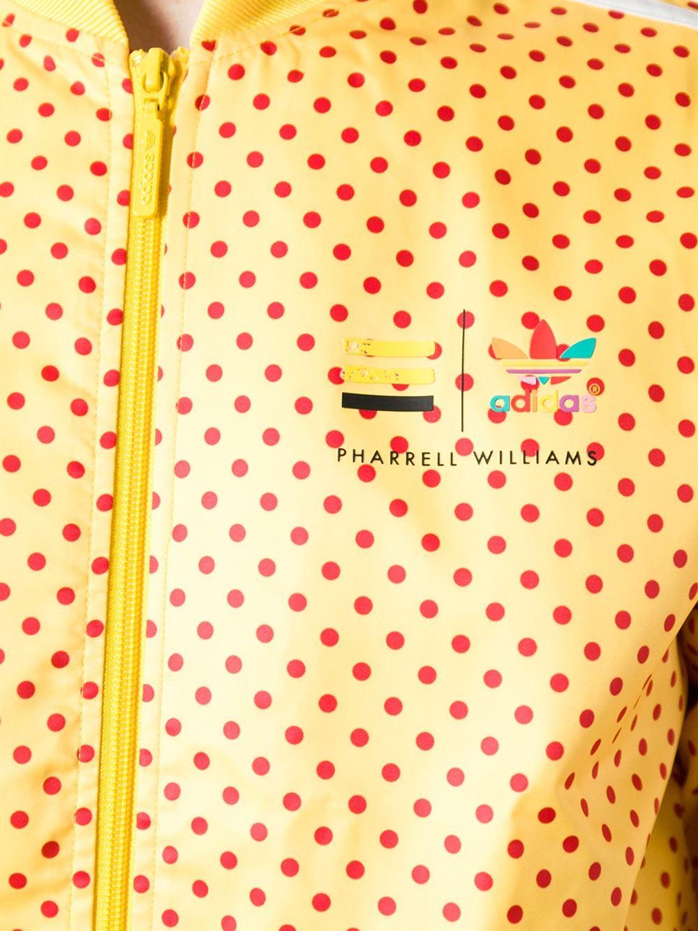 767a46e30ec ADIDAS ORIGINALS X PHARRELL WILLIAMS polka dot track jacket | Shive ...